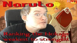 Swagkage- Ranking the Hokage from weakest to strongest reaction