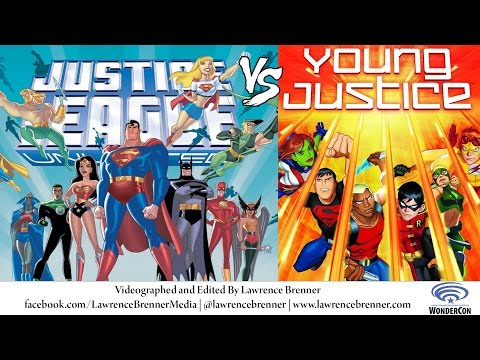 Justice League vs. Young Justice at Wondercon 2016