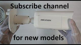 HIKVISION DS-2CD2625FWD-IZS(2.8-12MM) vidéo