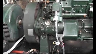 9.5 kW load test on the Lister Diesel Generator