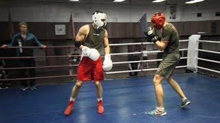 Кикбоксеры против МСМК по боксу / На опыте