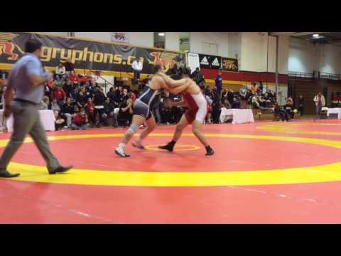 2015 Guelph Open: 125 kg Final Korey Jarvis vs. Eric Thompson