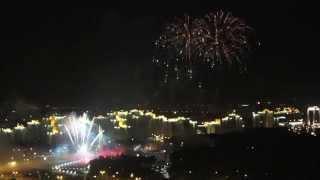 видео Салюты и фейерверки на праздник в Минске