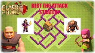CLASH OF CLANS | TH 6 BEST ATTACK STRATEGY | Townhall Level 6
