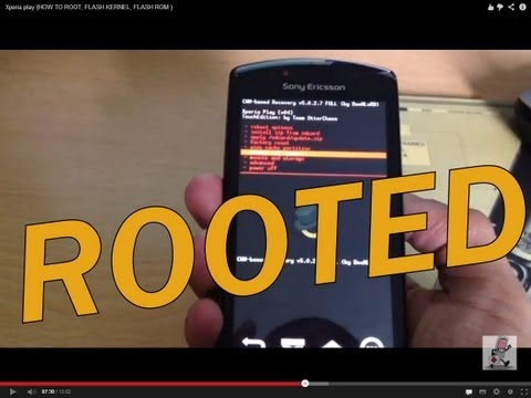 Xperia play (HOW TO ROOT, FLASH KERNEL, FLASH ROM )