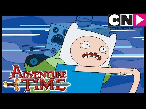 Adventure Time | Neptr: The Never Ending Pie Throwing Robot | Cartoon Network