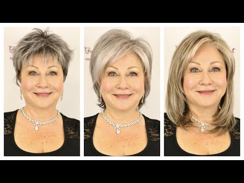 f8fa024c3b6 Top 14 Grey Wigs and Grey Hair Pieces - YouTube