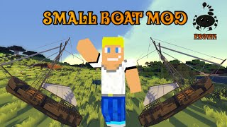 Des bateaux dans Minecraft ?! -Mod Small Boat 1.7.10 [FR-HD]