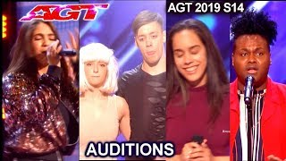 Audition Fails  Singers  Dancers & others Acts Audition 4 | America's Got Talent 2019