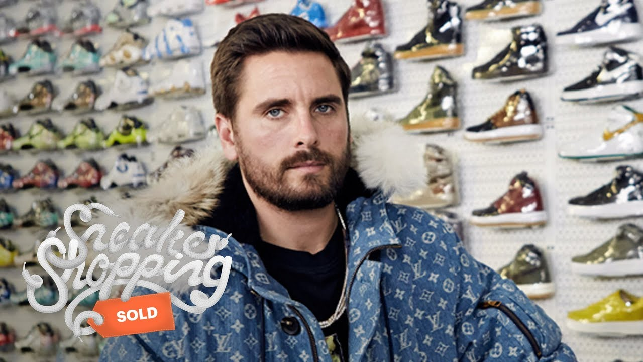 95a646f9ddc8a Scott Disick Goes Sneaker Shopping With Complex - YouTube