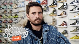 Scott Disick Goes Sneaker Shopping With Complex by : Complex