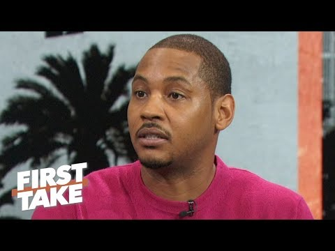 Carmelo Anthony talks leaving Rockets: I felt fired, CP3 and Harden didn't know | First Take