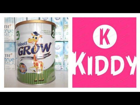 Sữa Abbott Grow 2 cho bé 6-12 tháng