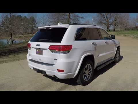 West TN 2015 Jeep Grand Cherokee Overland 3 0L Diesel 4WD for sale white info www sunsetmotors com