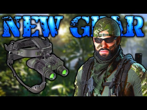 NEW GEAR, Night Vision Goggles! Ghost Recon Wildlands