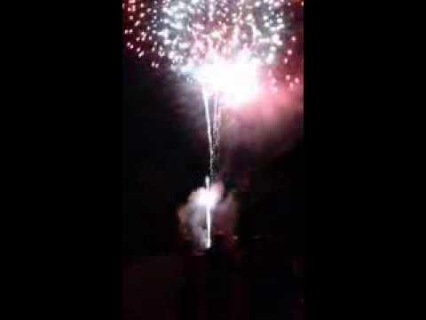 Biltmore estate fireworks Asheville North Carolina