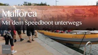 500 PS Speedboot und Kathedrale in Palma de Mallorca | Reisevideos by Jörg Baldin von BREITENGRAD53