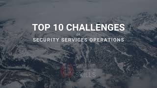 Top 10 SOC challenges by QCS
