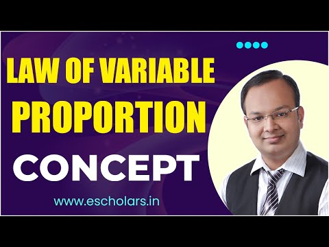 #3 | Production function | Concept of Law of Variable Proportion -I