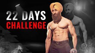 22 DAYS TRANSFORMATION CHALLENGE (guaranteed results) || SSCHALLENGEFITNESS