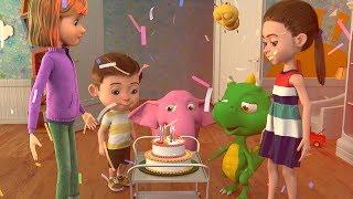 ДЕТСКИЕ ПЕСЕНКИ   Обучающее видео для детей   Весёлые смешные песни