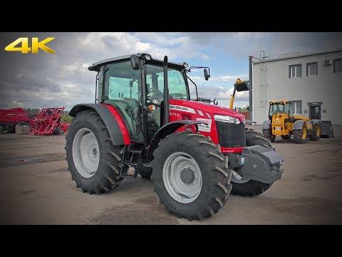 Трактор Massey Ferguson 6713 - одна из самых доступных альтернатив МТЗ-1221 в России. Обзор 2019