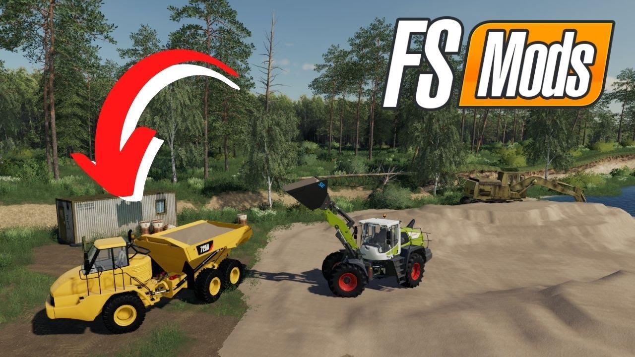 3 novos mods, Trabalhe com AREIA nos consoles | FARMING SIMULATOR 19