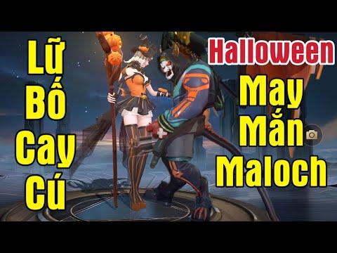(Liên Quân) Lữ Bố Thất Tình - Điêu Thuyền Chính Thức Theo Maloch - Trang Phục Halloween