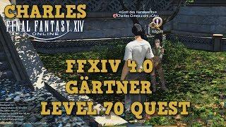 """FFXIV 4.0 - Gärtner Lvl 70 Quest """"Der Weg zur Gärtnerin"""" - Sträuße Rhalgrs Stäbe abbauen"""