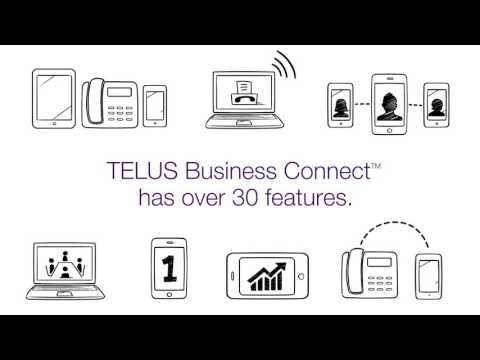 Discover over 30 features of TELUS Business Connect
