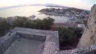 Sunrise from Kassiopi Castle/Fort Corfu Greece August 2015 with KCTV