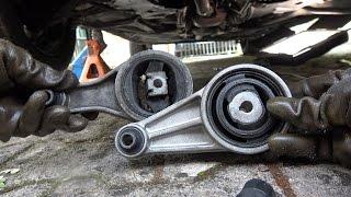 Changer un support  moteur arrière