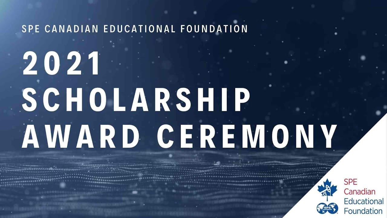 SPECEF 2021 Virtual Scholarship Award Ceremony