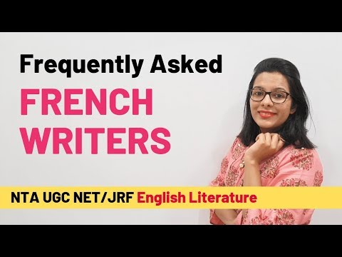 5 Major French Writers Missing In Guide Books (UGC NET English)