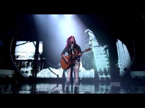 "Jessica Meuse Singing ""Pumped Up Kicks"" - Season XIII Top 10 Finalist"