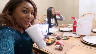 Vlogmas Days 13-14 HOUSE POOR?! SHOPPING AT IKEA, I GOT A DINING ROOM SET!
