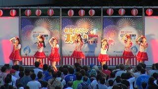 新宿NSビル夏祭り2016 スルースキルズのライブです 遠目からの撮影.