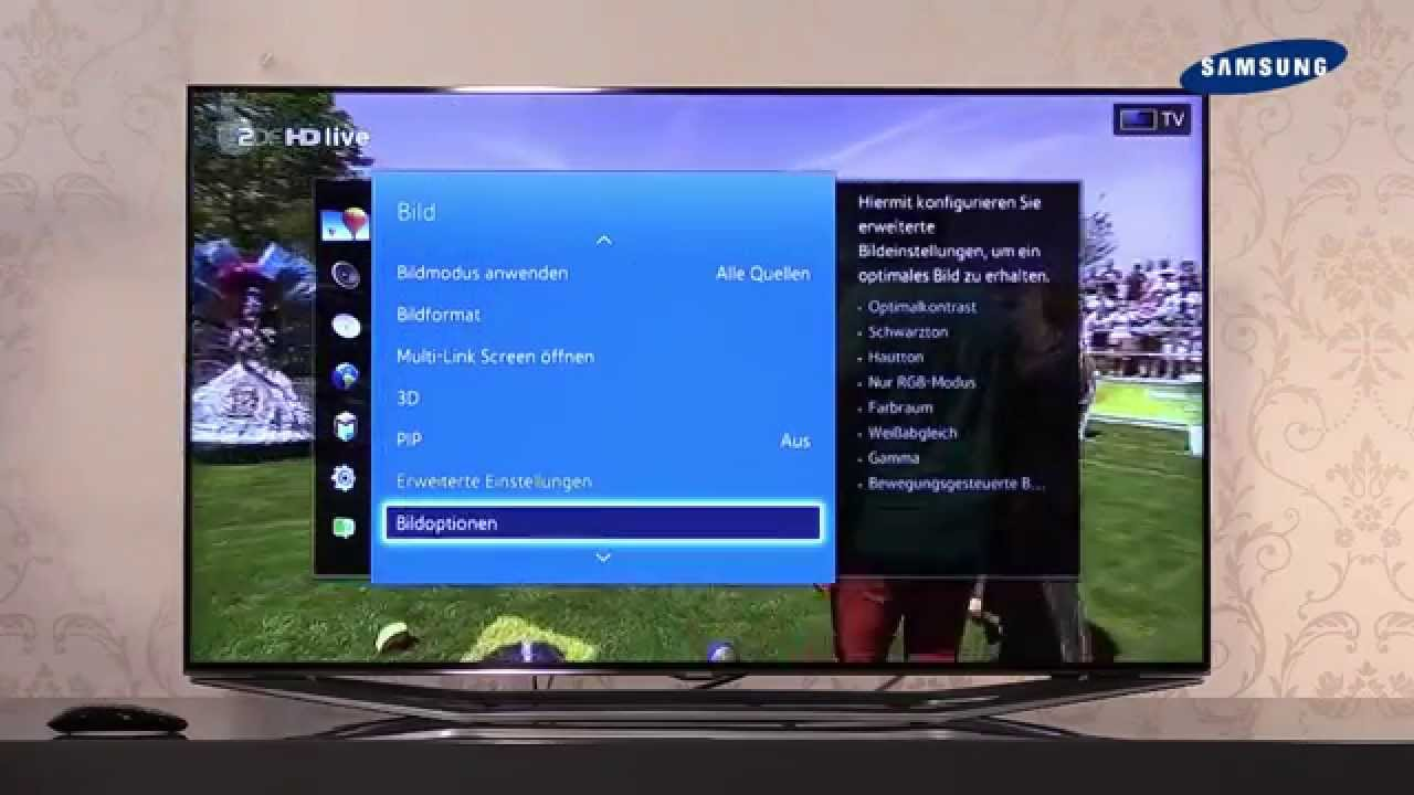 Samsung TV 10 - 10 Einstellungen / Systemmenü