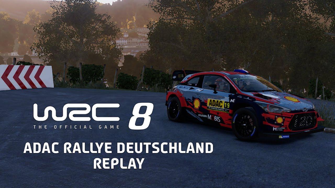 WRC 8   ADAC Rallye Deutschland Replay
