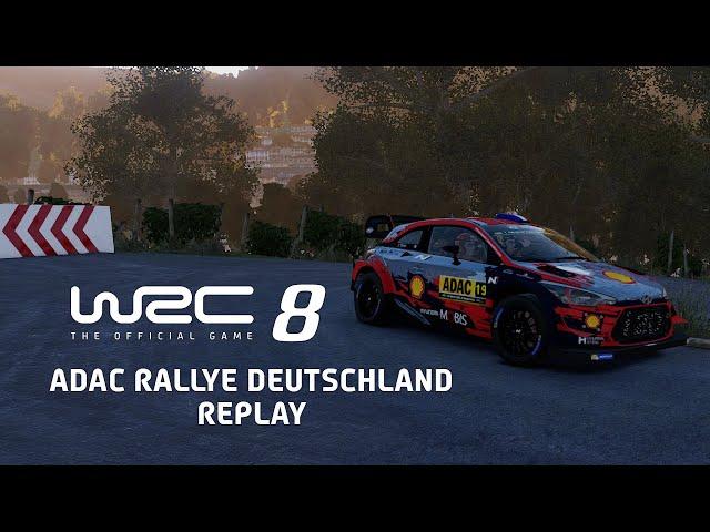 WRC 8  | ADAC Rallye Deutschland Replay (Alpha version)