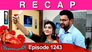 RECAP : Priyamanaval Episode 1243, 15/02/19