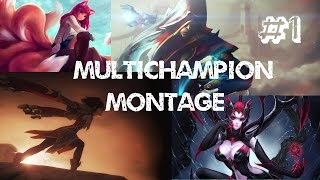 Multichampion Montage #1 by Greenpotion