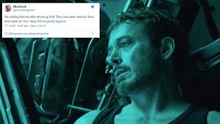 Give Tony Stark a Break - Fans Became Emotional after Avengers : End Game Trailer
