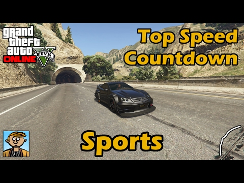 Fastest Sports Cars (2017) - GTA 5 Best Fully Upgraded Cars Top Speed Countdown
