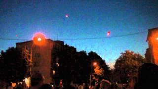 """Запуск огненных сердец """"Лесини Джерела 2012"""""""