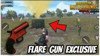 NEW FLARE GUN GAMEPLAY - PUBG MOBILE 0.8 UPDATE