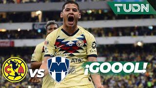 ¡Pero qué golazo de Richard Sánchez! | América 2 - 0 Monterrey | Final Vuelta Liga MX - AP 19 | TUDN