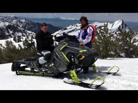 2017 Polaris Pro Rmk 174 Snowmobile Review