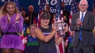 Bianca Andreescu makes Canadian history by defeating Serena Williams to win the 2019 US Open