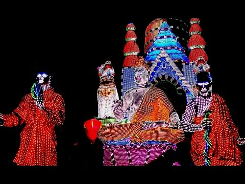 Jagaddhatri Puja Procession at Chandannagar 2016 - Full HD Video